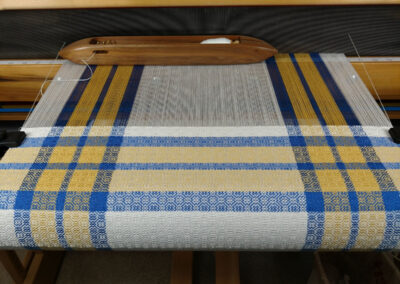 Individual Weaving Pictures from Show and Tell